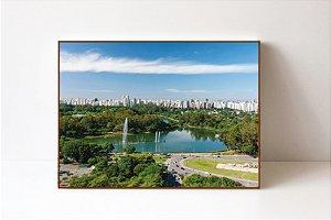 Quadro em Canvas Parque Ibirapuera