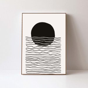 Quadro em Canvas Abstrato 1 PB