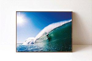 Quadro em Canvas Surfista