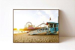 Quadro em Canvas Pier Santa Monica