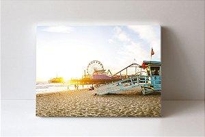 Quadro em Canvas Pier Santa Monica 2