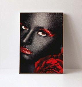 Quadro em Canvas Mulher Delicada 3
