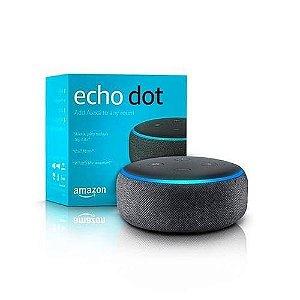 Echo Dot 3 (Comando de Voz ALEXA)