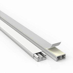 Canaleta PVC Adesivo - 10x20