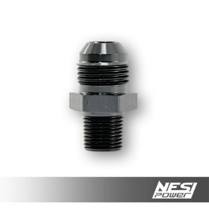 Niple 10AN x 3/8NPT Preto - NesiPower
