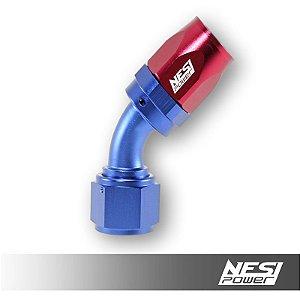 Conexão 12an 45º Nesipower - Azul e vermelho