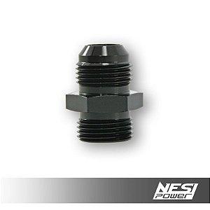 Niple 12AN x 12AN Oring Preto - NesiPower