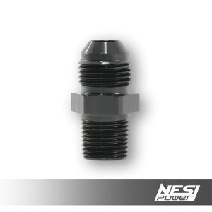 Niple 8AN x 3/8NPT Preto - NesiPower