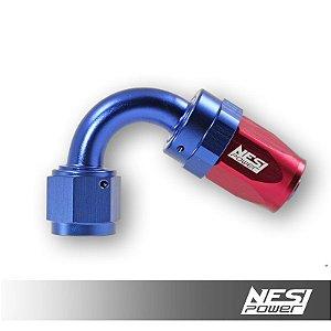 Conexão 8an 120º Nesipower - Azul e vermelho
