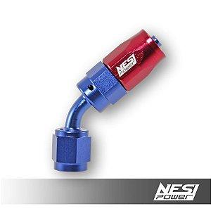 Conexão 4an 45º Nesipower - Azul e vermelho