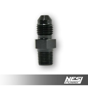 Niple 4AN x 1/8NPT Preto - NesiPower