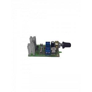 Controlador De Velocidade Para Motor 24v 20a 0 A 100%