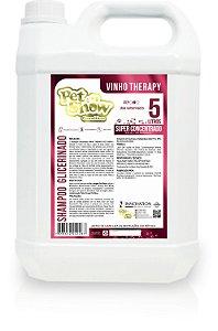 SHAMPOO NEUTRO GLICERINADO VINHO THERAPY 5L- PET SHOW