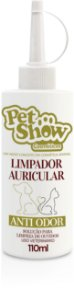 LIMPADOR AURICULAR 110ML - PET SHOW