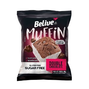 Brownie Protein Double Chocolate Zero 40g - Belive