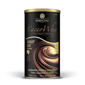 Cacao Whey Sabor Chocolate 450g - Essential Nutrition