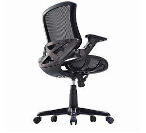 Cadeira de escritório ergonômica em tela metro x