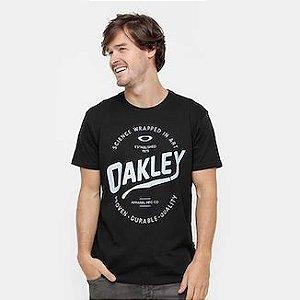 Camisa Oakley Outline Black