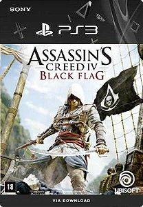 ASSASSINS CREED 4 BLACK FLAG PS3 PSN MIDIA DIGITAL