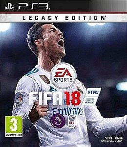 FIFA 18 LEGACY EDITION Português PS3 PSN MÍDIA DIGITAL
