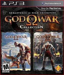 GOD OF WAR COLLECTION PS3 MÍDIA DIGITAL
