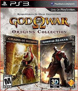 GOD OF WAR: ORIGINS COLLECTION PS3 PSN MÍDIA DIGITAL