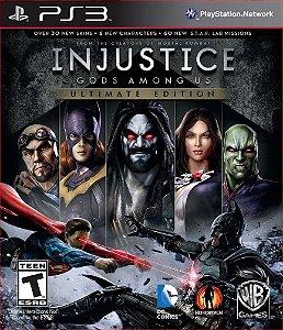 INJUSTICE GODS AMONG US ULTIMATE EDITION PS3 MÍDIA DIGITAL