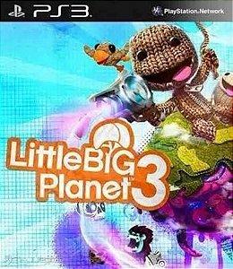 LITTLE BIG PLANET 3 PS3 MÍDIA DIGITAL