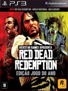 RED DEAD REDEMPTION UNDEAD NIGHTMARE COLLECTION PS3 PSN MÍDIA DIGITAL