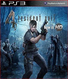 RESIDENT EVIL 4 HD PS3 PSN MÍDIA DIGITAL