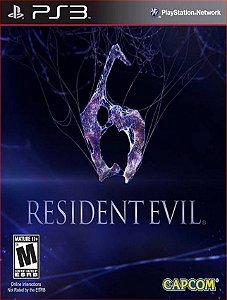 RESIDENT EVIL 6 PS3 PSN MIDIA DIGITAL