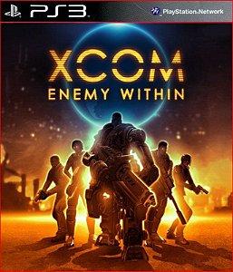 XCOM ENEMY WITHIN PS3 PSN MÍDIA DIGITAL