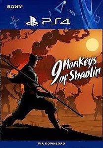9 MONKEYS OF SHAOLIN PS4 MÍDIA DIGITAL