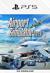 airport simulator 2019 psn ps5 mídia digital