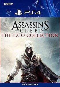 ASSASSIN'S CREED THE EZIO COLLECTION PS4 MÍDIA DIGITAL