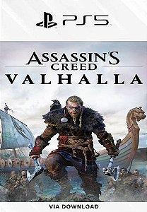Assassins Creed Valhalla Ps5 psn Mídia Digital