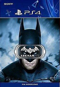 BATMAN ARKHAM VR PS4 MÍDIA DIGITAL