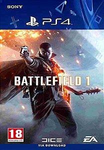 BATTLEFIELD 1 PS4 MIDIA DIGITAL PROMOÇÃO