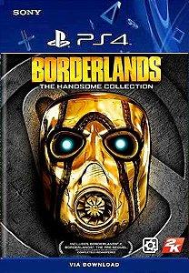 BORDERLANDS THE HANDSOME COLLECTION PS4 MÍDIA DIGITAL