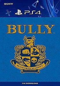 BULLY PS4 MÍDIA DIGITAL