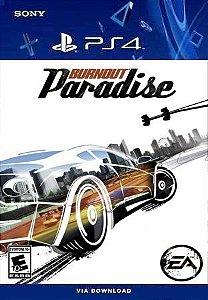Burnout Paradise Remastered Ps4 psn Mídia Digital