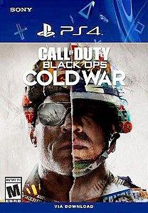 CALL OF DUTY: BLACK OPS COLD WAR PS4 MÍDIA DIGITAL