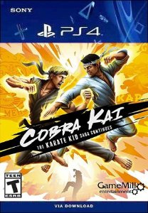 COBRA KAI THE KARATE KID SAGA CONTINUES PS4 MÍDIA DIGITAL