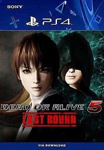 DEAD OR ALIVE 5 LAST ROUND PS4 MÍDIA DIGITAL