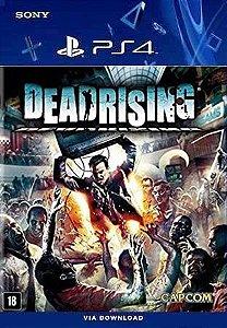 DEAD RISING PS4 MÍDIA DIGITAL