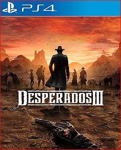 DESPERADOS III PS4 MÍDIA DIGITAL