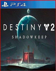 Destiny 2: Fortaleza das Sombras ps4 mídia digital