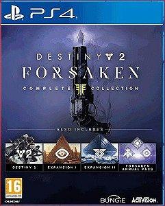 Destiny 2: Renegados ps4 mídia digital