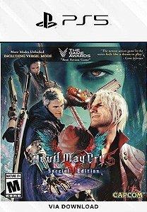 Devil May Cry 5 Special Edition ps5 psn mídia digital