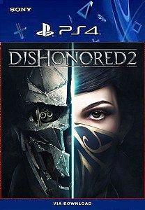 Dishonored 2 PS4 midia digital